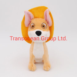 Fabricante mayorista lindo perro perro mascota juguetes de peluche con sombrero de peluche de perro mastique juguetes juguete cat.