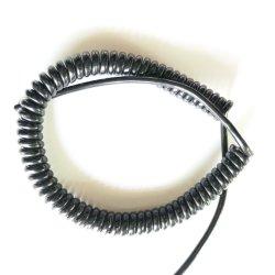 Cavo a spirale di alta qualità 4 conduttori 0,75 mm2, 0,1 mm2, 20 AWG cavo a spirale cavo a molla cavo a spirale cavi elettrici a spirale 4 conduttori 0,75 mm2