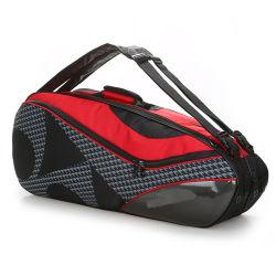 Amazônia com bola de ténis Duffles Armazenamento Kit de badminton Racket Bag