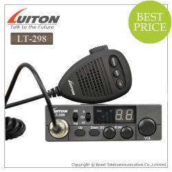 Het mobiele CITIZENS BAND Radio27MHz Lt.-298 kan Saq op Microfoon plaatsen