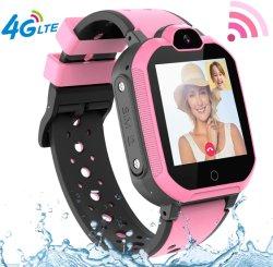 4G GPS scherza il telefono di Smartwatch, le ragazze IP67 dei ragazzi impermeabilizzano la vigilanza con il pedometro dell'allarme di chiacchierata SOS di voce & del video della macchina fotografica di chiamata di modo dell'indicatore di posizione 2 di GPS