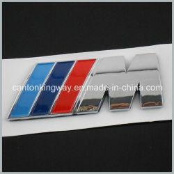 M Puissance Chrome emblème 3D'Autocollant Badge Autocollant logo en plastique ABS pour BMW