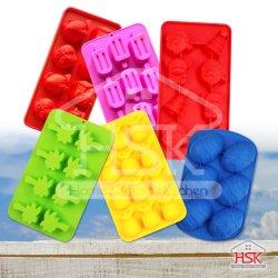Cubos de gelo Bolo de bandeja de molde de silicone utensílios de Dom
