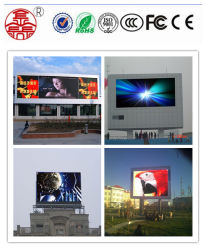 Etapa de bajo consumo de energía exterior pantalla LED pantalla LED RGB P8