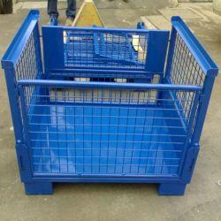 Schweißlager Industrieller, Zusammenklappbarer Stahlbehälter Für Schwere Beanspruchung/Palette /Tray