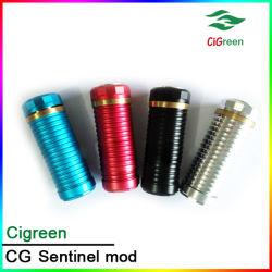 De 2014 cigarrillo electrónico Sentinel Mod, mecánica Mod para batería 18350/18650