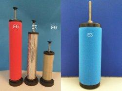 Hankison 대체 E9-32 E7-32 E5-32 E3-32 E1-32 Precision 에어 필터 요소