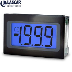 Splash-Proof ultra flache Voltmeter-Blau-Hintergrundbeleuchtung Digital-LCD