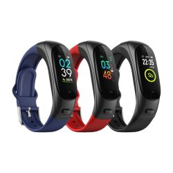 Goedkope prijs smartphone /Women/Fashion/Gift Watches Heart Rate Monitor met bloed Drukmonitor Fitness Tracker Smart Armband
