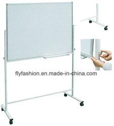 Il doppio parteggia scheda bianca mobile magnetica per il basamento magnetico Whiteboard delle rotelle che fa scorrere la scheda bianca Sf-15b