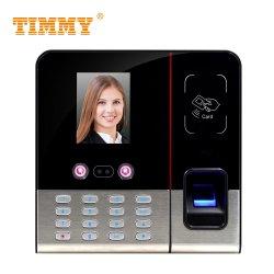 Timmy биометрических перед лицом Recogntion сканер отпечатков пальцев время посещаемость машины