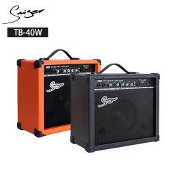 Amplificador de guitarra al por mayor de 40W AMPLIFICADOR DE BAJO eléctrico para la venta