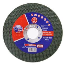 Высокое качество Мпа EN12413 4,5'' полимера кабального абразивного отрезного диска на диск шлифовального круга для металлических стальных резки