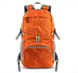 Venda por grosso de Nylon Impermeável Dobrável Portátil Pop desportos ao ar livre mochila de Viagem