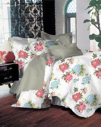 غلاف الحرير عبر الإنترنت Lace Edge Wash الحرير قطنية 100% 4 قطع أسرّة من القطن، غطاء وسادة