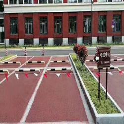 L'armatura in cemento armato Pervious porosa colorata è utilizzata nella città della spugna