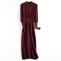 中国卸し売りイタリアの女性Sweaters柔らかいHandfeel高いカラーニットのプルオーバーの王女