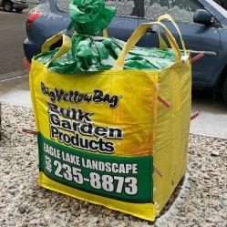 Gran bolsa de color amarillo brillante con impresión personalizada ilustraciones impresas en color envasadas individualmente 100% PP BOPP Laminado de Big Bags FIBC bolsa