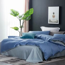 Beddenset Duwelen dekbedovertrek 4 STUKS Klassiek beddenpakket Home Textiel uit Direct Factory