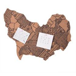 壁の芸術の装飾のためのアメリカ人のコルクPinのボードの掲示板のマップ