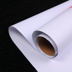 Pelar y extraíble Repositionable Stick Autoadhesivo imprimible tejido de papel de pared