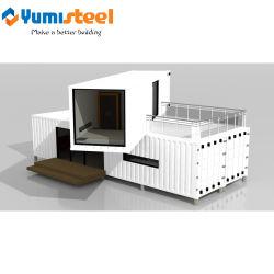 El aislamiento térmico Material Acero Contenedor móvil/Hotel/edificio prefabricado
