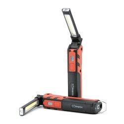 Inspeção do LED da lâmpada de trabalho, Recarregável dobrável para luz de trabalho portátil Lanterna de Mão para garagem Mechanic Auto Carro reparação de camiões