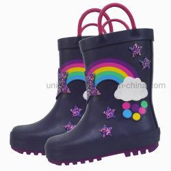 3D Cartoon Kid's botas de chuva chuva Non-Slip calçados para crianças