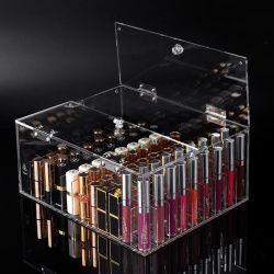 Магазин торговой марки Crystal акриловый макияж организатор кромкой Memory Stick™ ящик для хранения