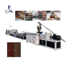 Plástico WPC PVC / PP / PE Madera Compuesto Sólido / Hueco Ventana Espuma Marco de puerta Máquina para fabricar Línea de extrusión