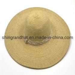 فصل صيف [فولكable] إمرأة فراغ [بلر] مخصصة [ويد بريم] شاطئ قبعات القش