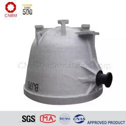 Cazo de escoria de acero de fundición fundición olla para planta de acero