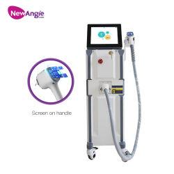 Beleza permanente do equipamento 808nm Máquina de remoção de pêlos a laser de diodo