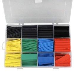 Hampool Popular 560 Shrink Wrap Tubing Assorted Colorful Electrical PE Geïsoleerde krimpkous