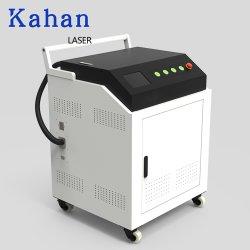 Usine de pièces métalliques 50W/100W/200W/300W/500W Nettoyer personnalisé Enlèvement de la rouille//taches d'huile de décapage de peinture Remover nettoyant CNC Machine de nettoyage laser à fibre
