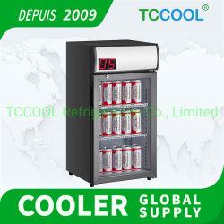 -5 ~ 5 graus Celsius Sub-Zero Counter-Top Showcase Frigorífico comercial do Resfriador