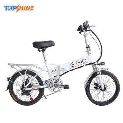 Sistema de crucero inercial bicicleta eléctrica plegable con GPS Sistema de bloqueo