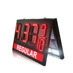 علامة أسعار الغاز LED العادية 8.88910