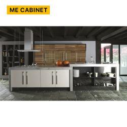 لوحة دي بي رويد التقليدية Mocha الطلاء الخشب الصلب المطبخ تصميمات المقصورة