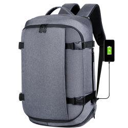 الاستخدام اليومي أزياء مقاومة للماء المشي لمسافات طويلة السفر مدرسة السفر الكمبيوتر المحمول حقيبة ظهر للشركات المضافة مزودة بمنفذ شحن USB