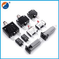 125V 250V réinitialisation manuelle de l'interrupteur de protection de surcharge