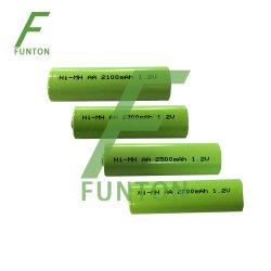 1.2V 2600mAh AA NI-MH Batterie-Satz Soem-Staubsauger Ni-Mh/elektrischer Rasierapparat-/Energien-Hilfsmittel-Batterie