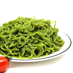 Großhandelsbiokost kalorienarm mit Spinat-Konjac Nudeln