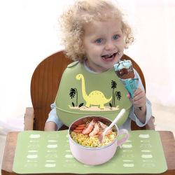 Baby Arpon Speichel-Tuch-Kind-führendes Silikon wasserdichte Schellfische