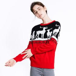 주문 도매 추악한 뜨개질을 한 디자인 캐시미어 천 소녀 겨울 모직 스웨터 여자 잠바 스웨터