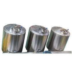 Grau alimentício Sanitária Vertical Redonda máquina de mistura de bebidas suco / máquina de mistura / CIP do Sistema de Limpeza