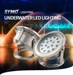 À prova de venda quente Fountain LED de iluminação da Luz de Pesca submarina
