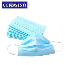 De Productie van het Masker van het gezicht met Fillter Bfe 99% Hygiënische Grijze Vervanging van de Filter van de Leverancier van AntiPfe van het Speeksel van India Antigas Elektrische Stof Gekleurde Gewone Bulk