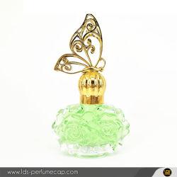 30ml Parfum de conception personnalisée en relief le flacon en verre avec le pulvérisateur jar de l'eau