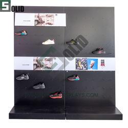 Muro perimetral de la pantalla stand/estantería/Rack/Display para la ropa y calzado /Bolsa/Tienda de tela Rack para Nike/Adidas/Puma/Marca Skechers/Fila